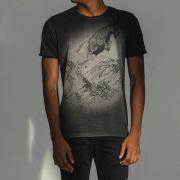T-shirt Von Der Volke Signo Capricórnio - Preta