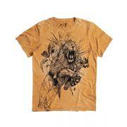 T-shirt Von Der Volke Signo Leão  - Mostarda