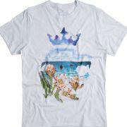 T-shirt Von Der Volke Tropical & Leão - Branca