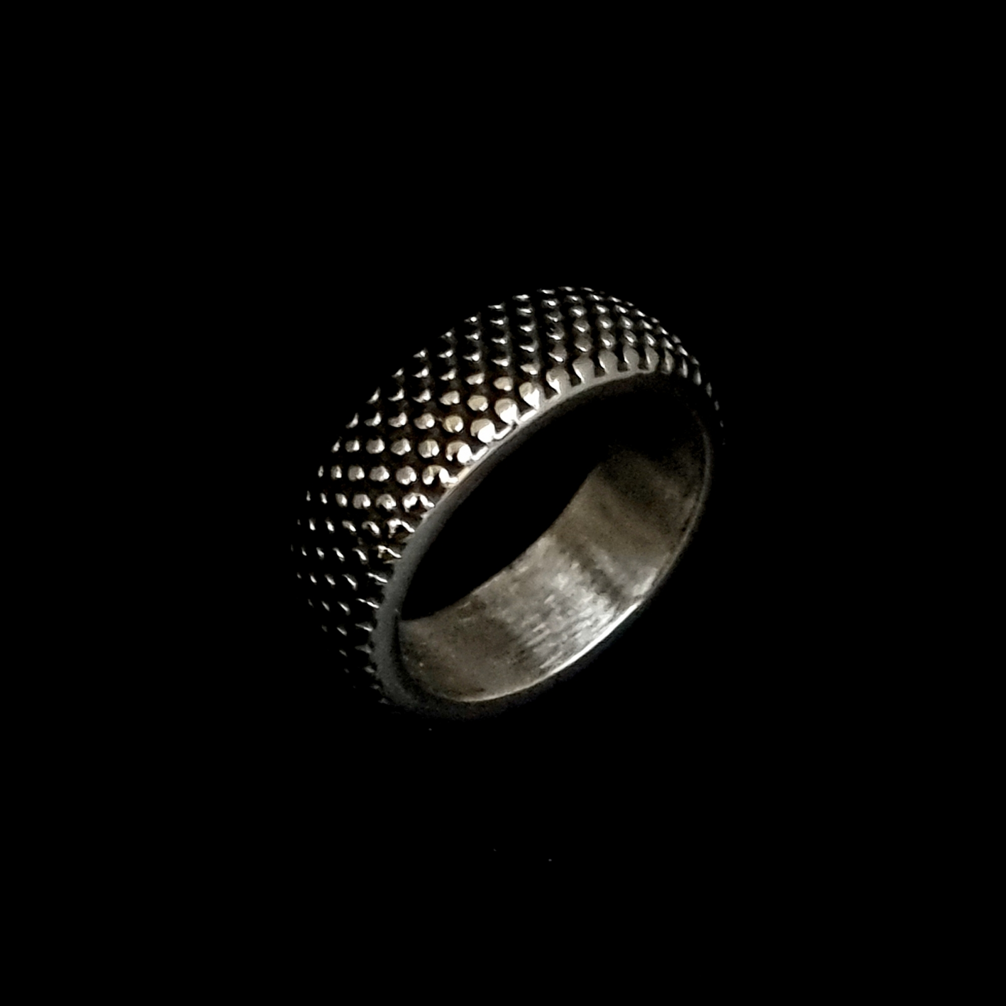 Anel Aço Inox Dot Two