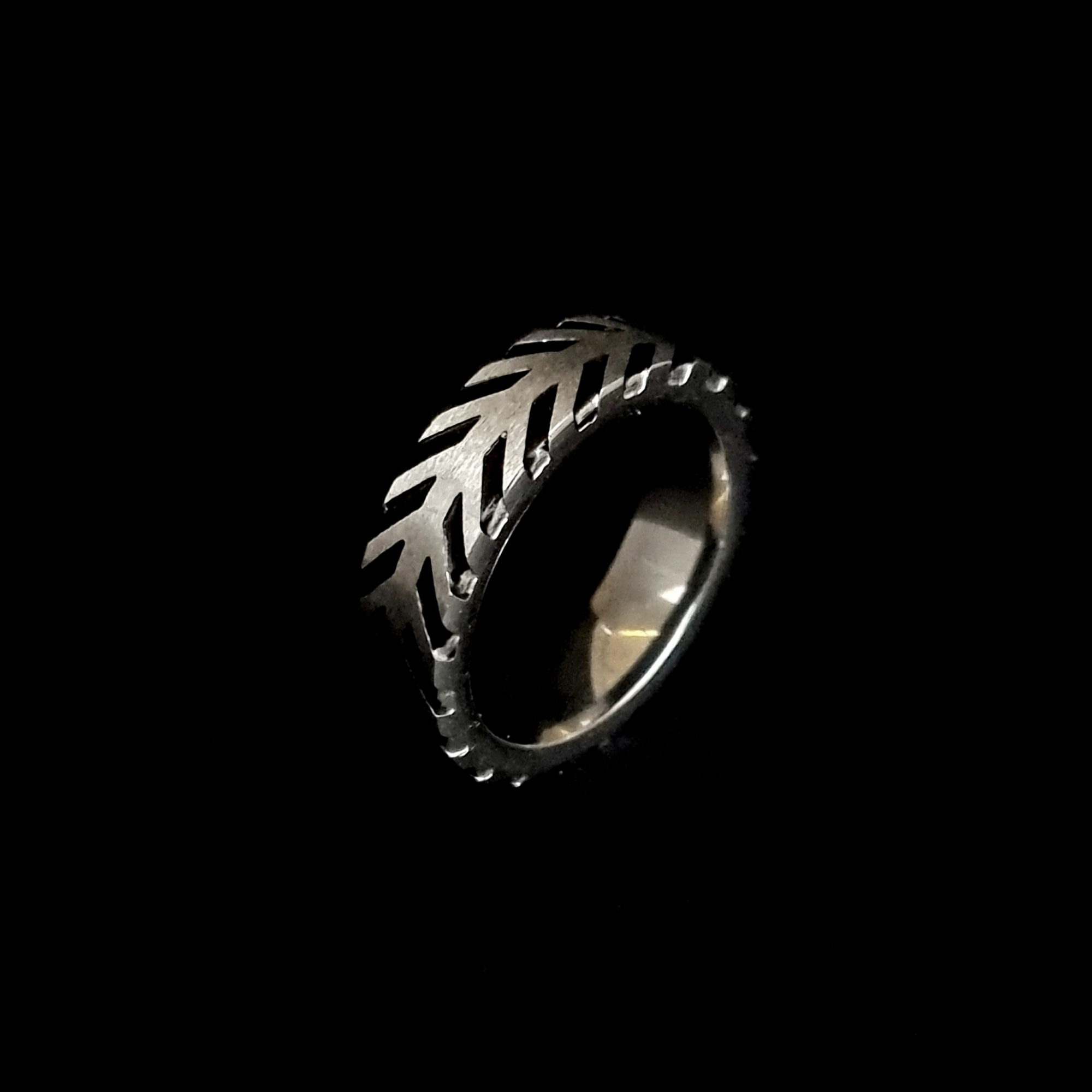 Anel Aço Inox Masculino Tyre