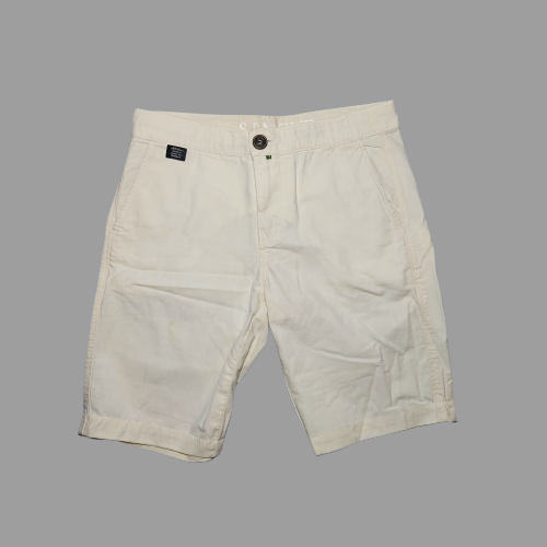 Bermuda Six One Just Fit Crop - Off White