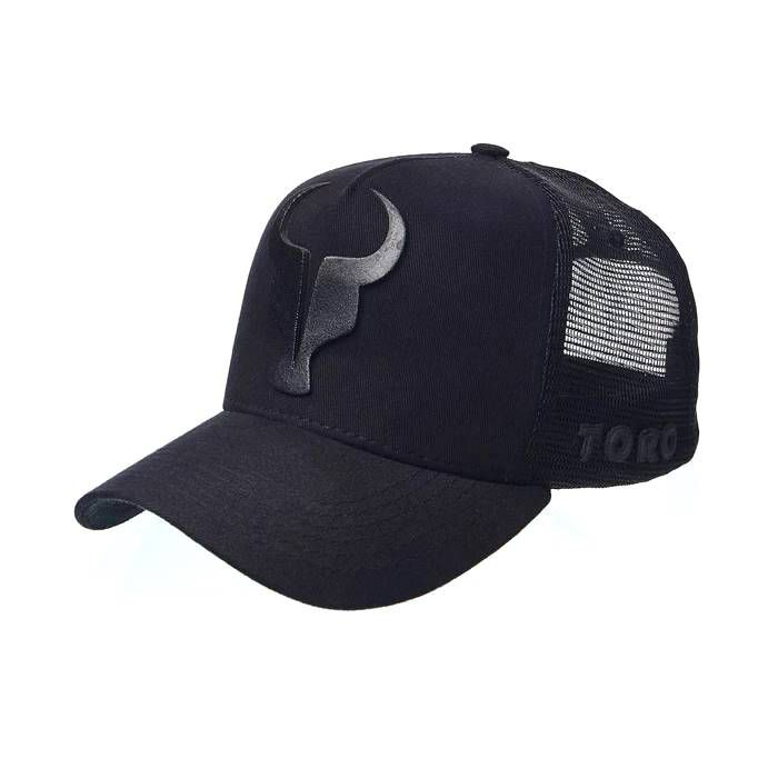 Boné Trucker Toro All Black