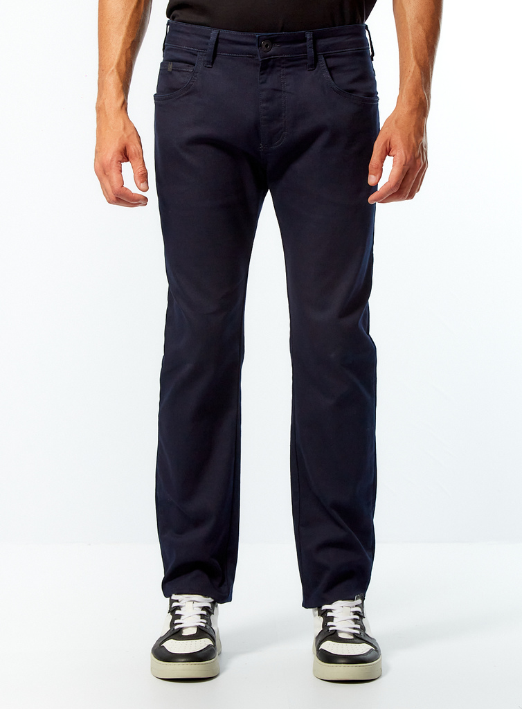 Calça Jeans Forum Paul Slim - Azul