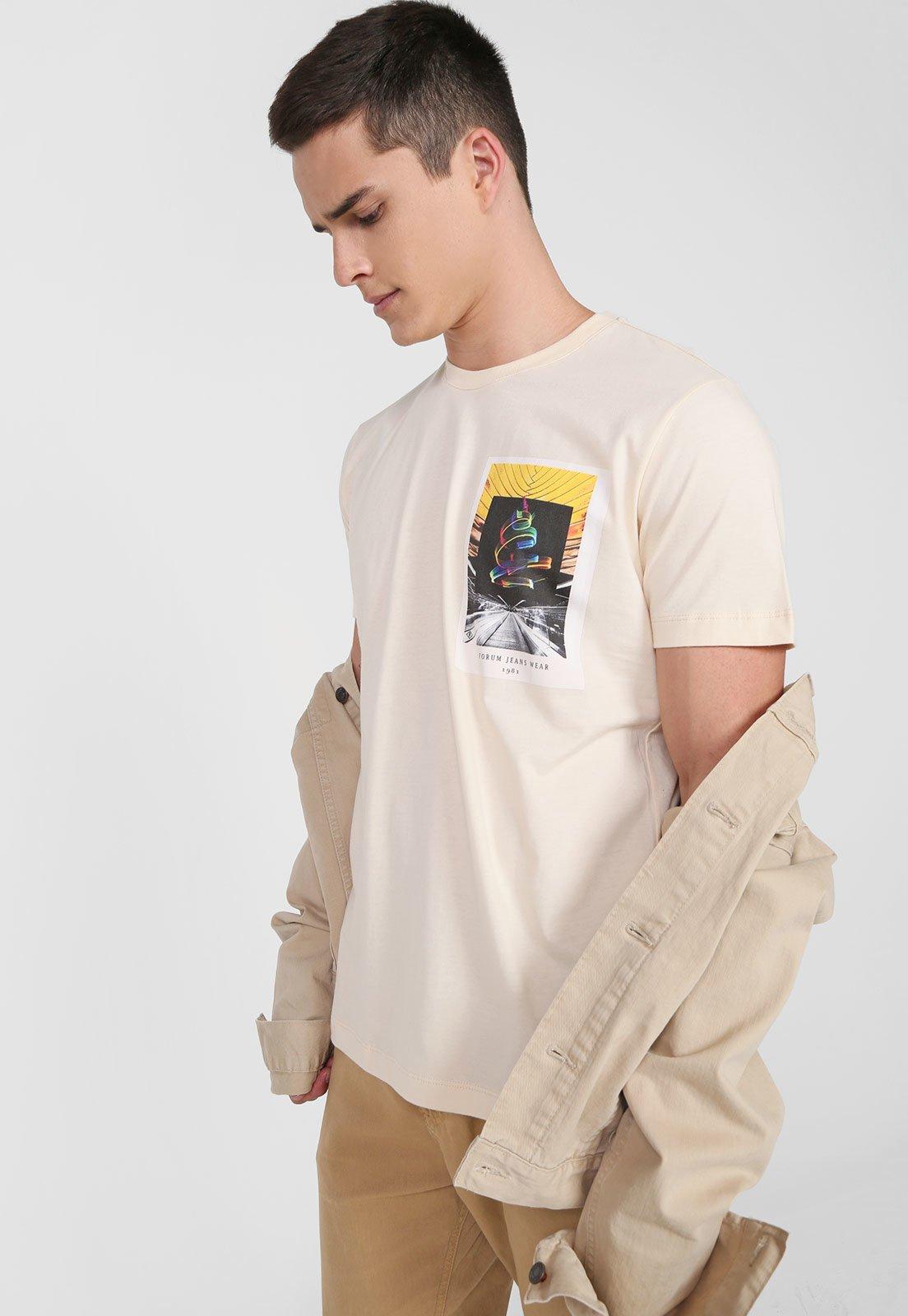 Camisa Forum - Bege Leblanc