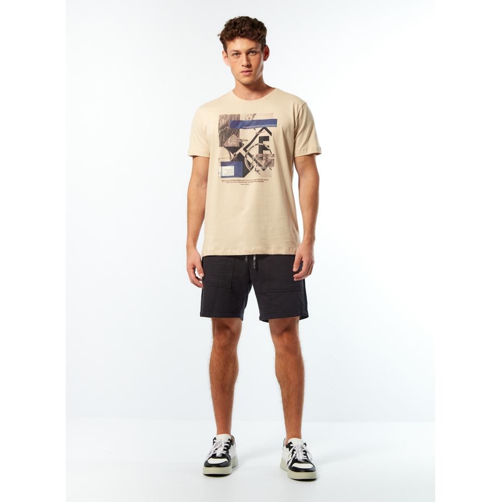 Camiseta Forum Bicycle - Bege