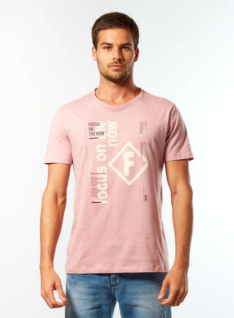 Camisa Forum Focus on The New - Rosa Airoso