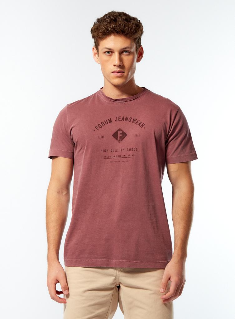 Camisa Forum Jeans Wear - Roxo