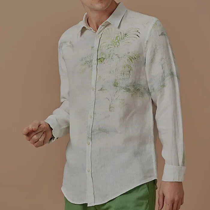 Camisa Foxton de Linho Carioca - Branca