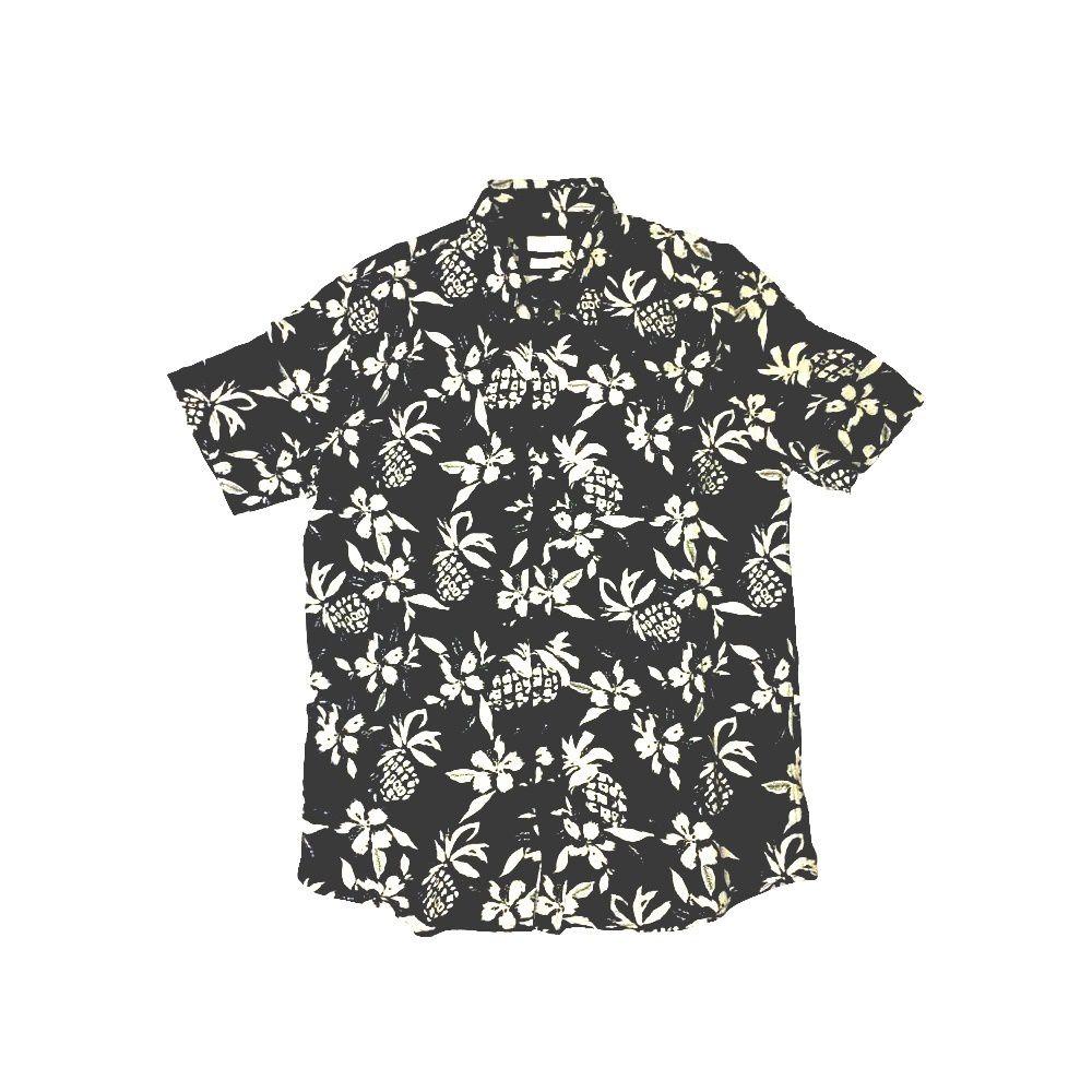 Camisa Foxton de Linho Grumari - Preta