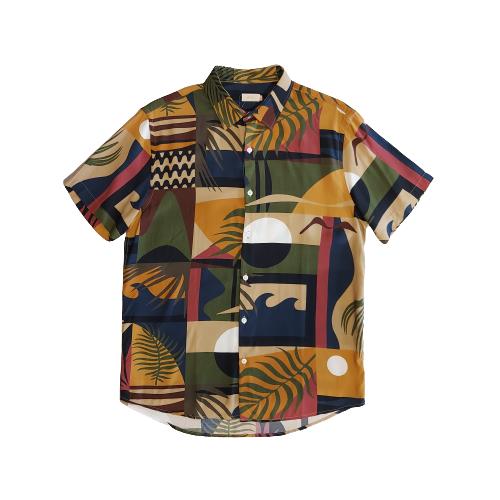 Camisa Foxton MC Geometria - Geometria