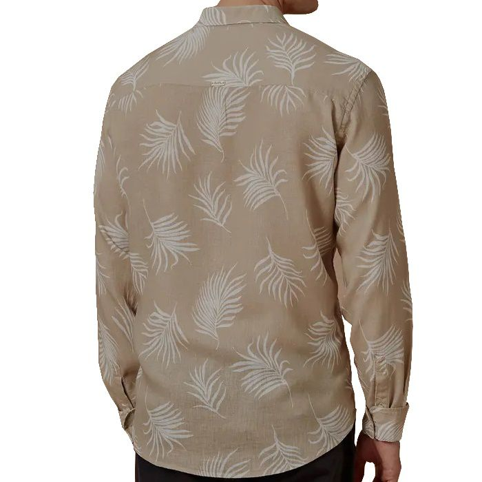 Camisa Foxton ML Power Palms - Areia