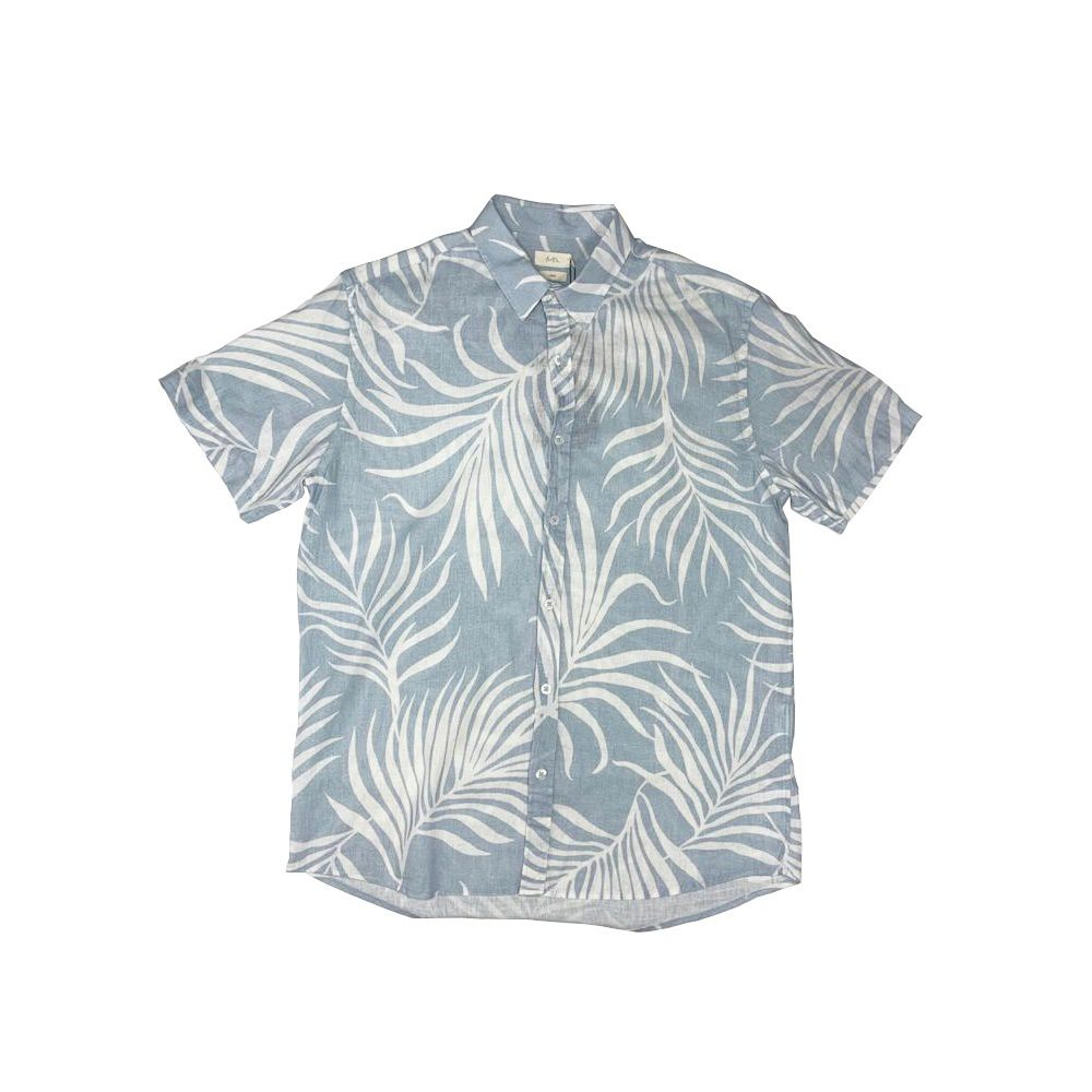Camisa Foxton Uber Palms - Azul