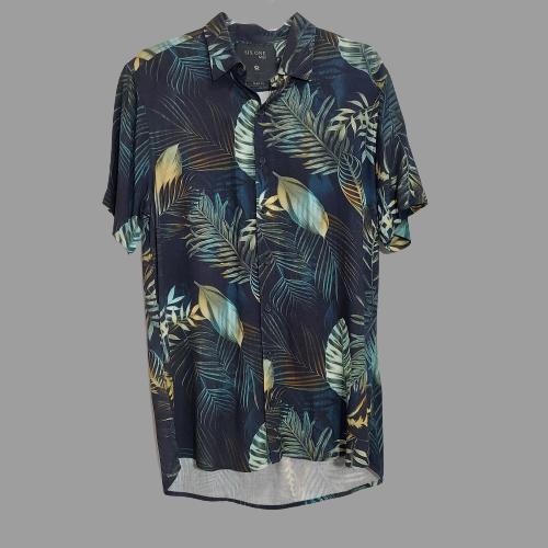 Camisa Six One MC Slim Fit - Verde