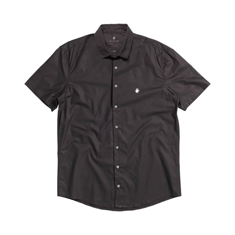 Camisa Von Der Volke Basis Short - Preto