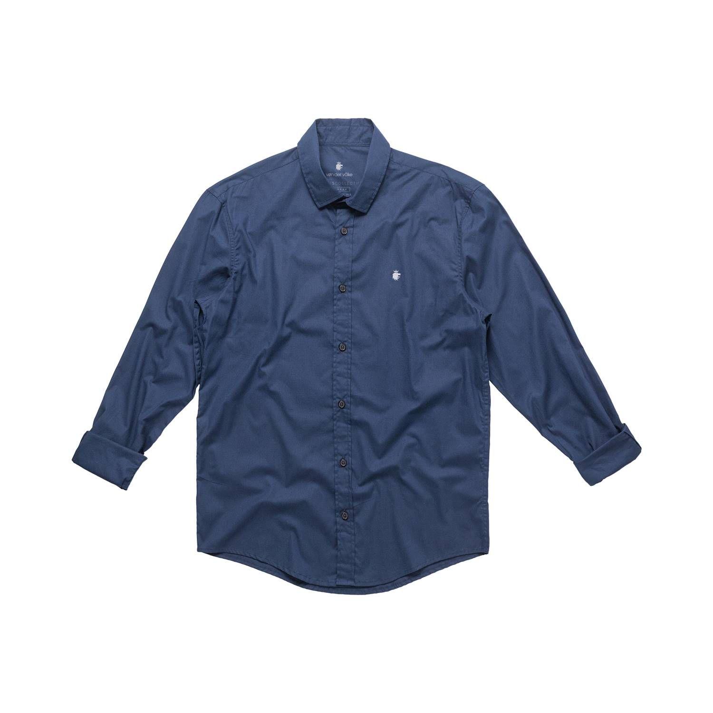 Camisa Von Der Volke Social ML Basics Marinho