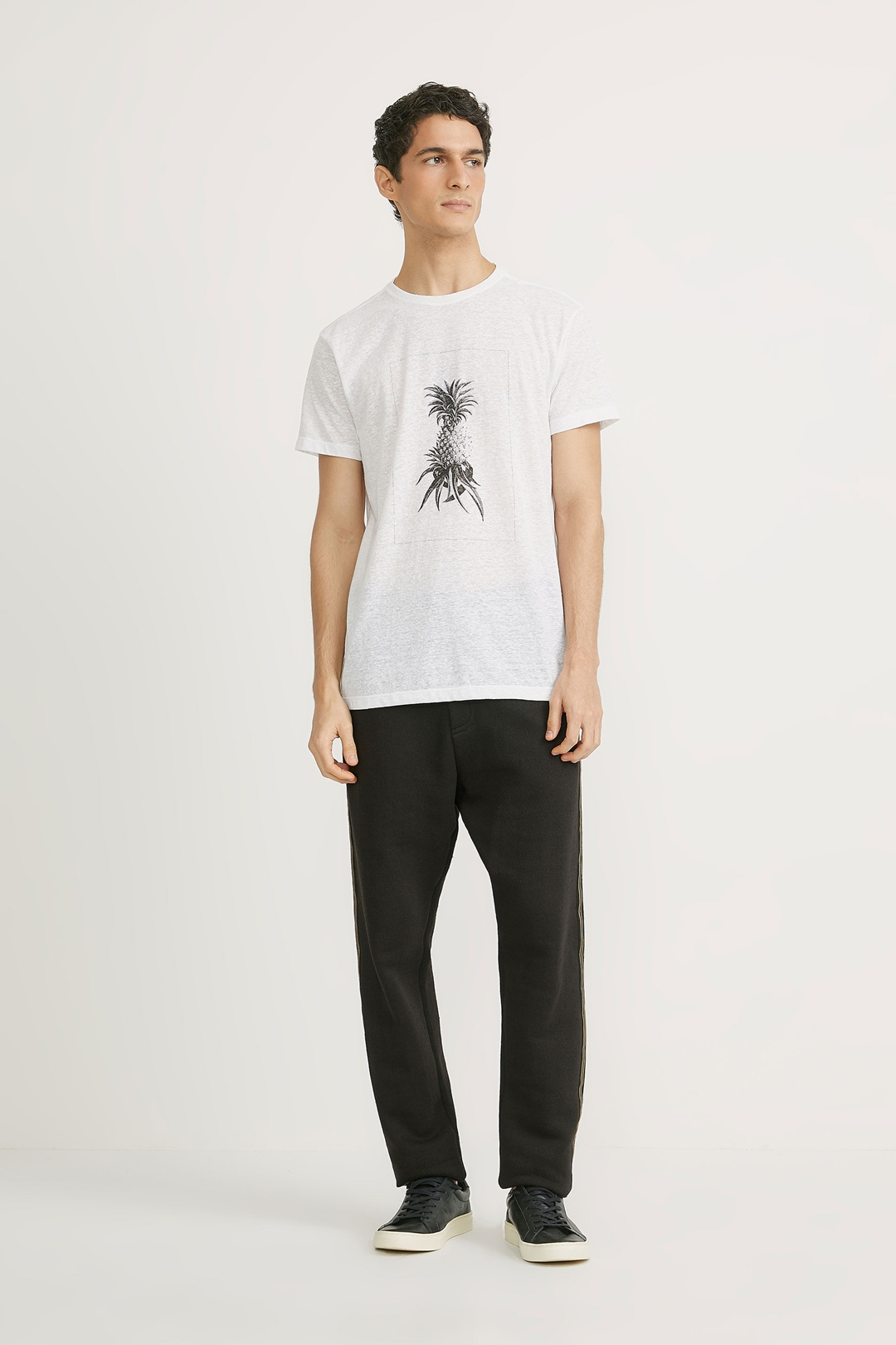 Camiseta Foxton Abacaxi Imperial - Branco