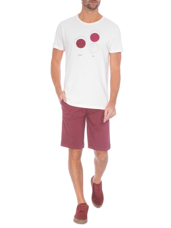 Camiseta Foxton Manhã/Noite - Branco