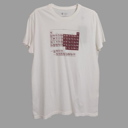 Camiseta Foxton Periodics Wine - Off White