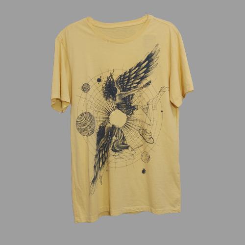 Camiseta Von Der Volke Gêmeos Amarela