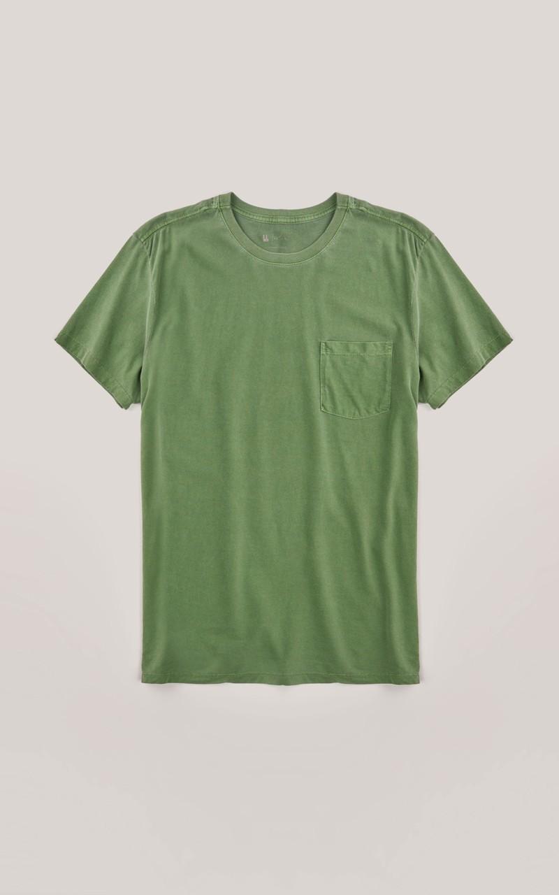 Camiseta Foxton Bolso Pinca - Verde