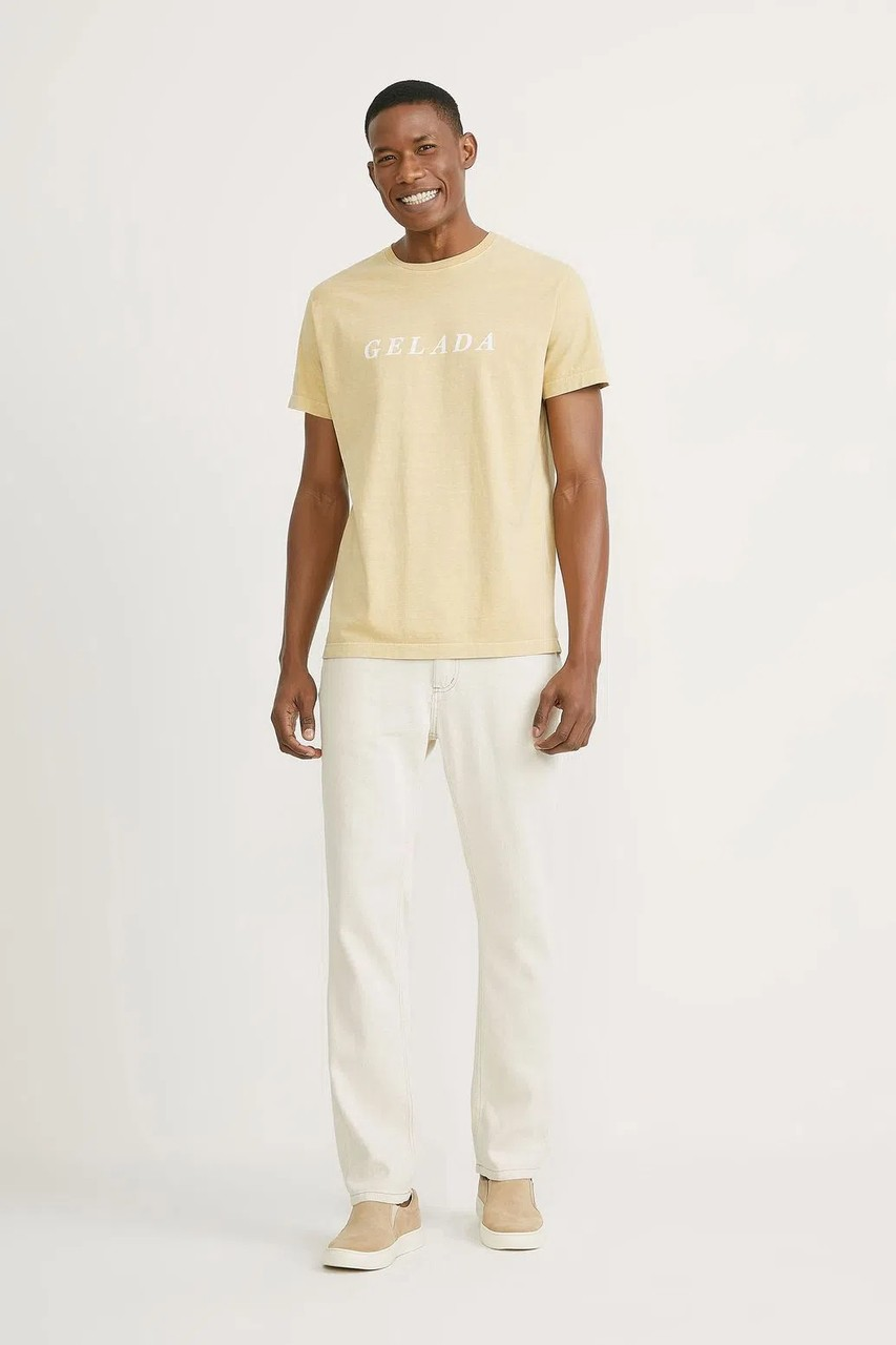 T-shirt Foxton Gelada - Amarela