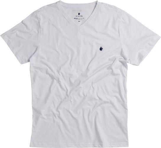 T-shirt Von Der Volke Basis V - Branca
