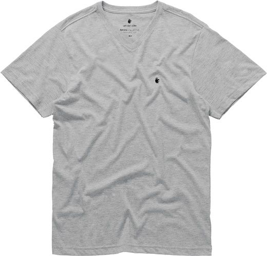 T-shirt Von Der Volke Basis V - Cinza Mescla