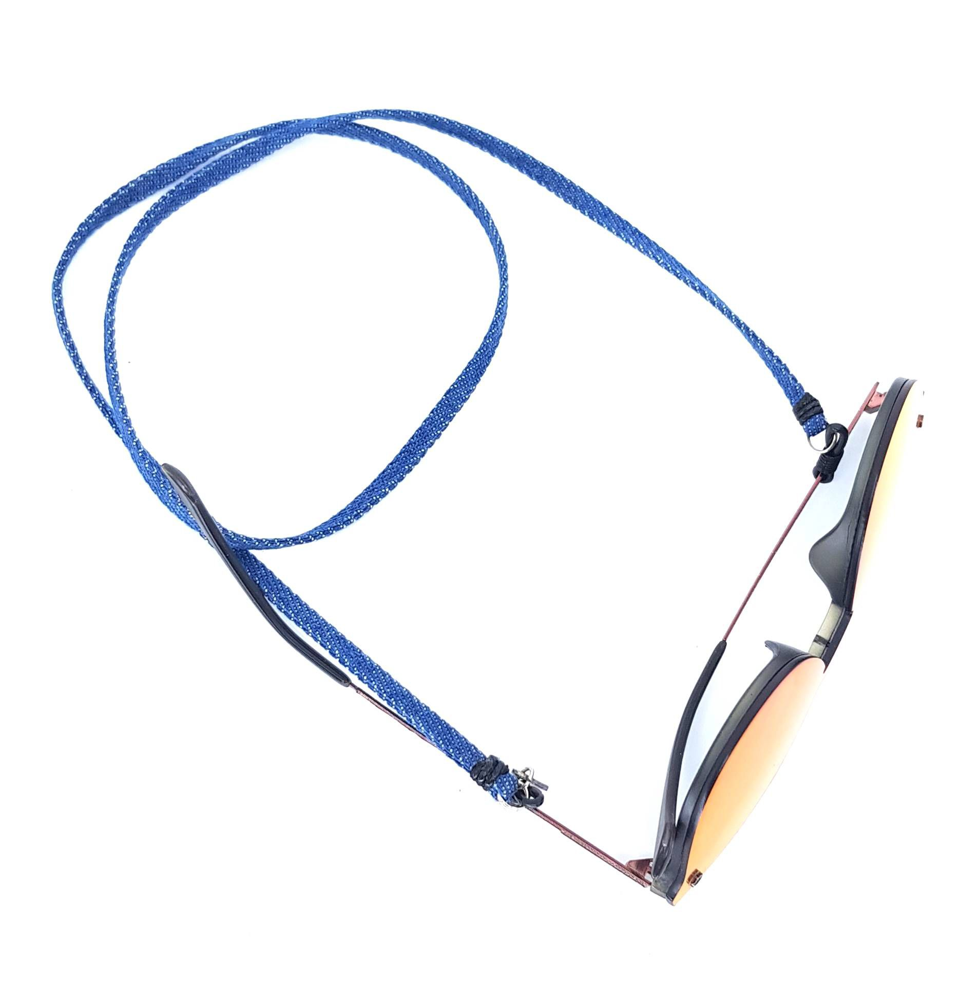 Cordão para Óculos Azul Jeans