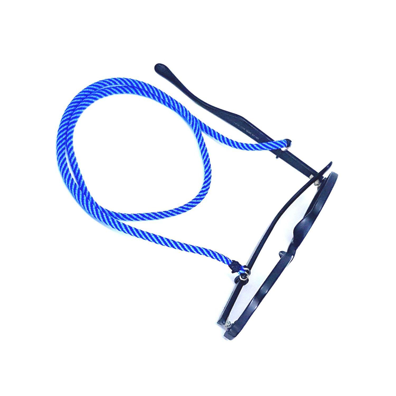 Cordão para Óculos Listrado Azul