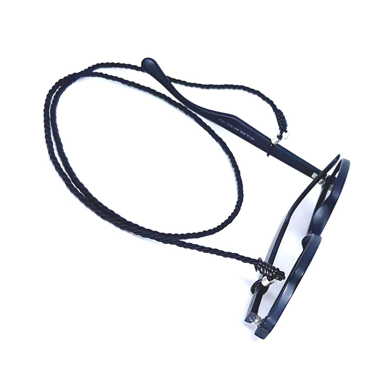 Cordão para Óculos Torneado Preto