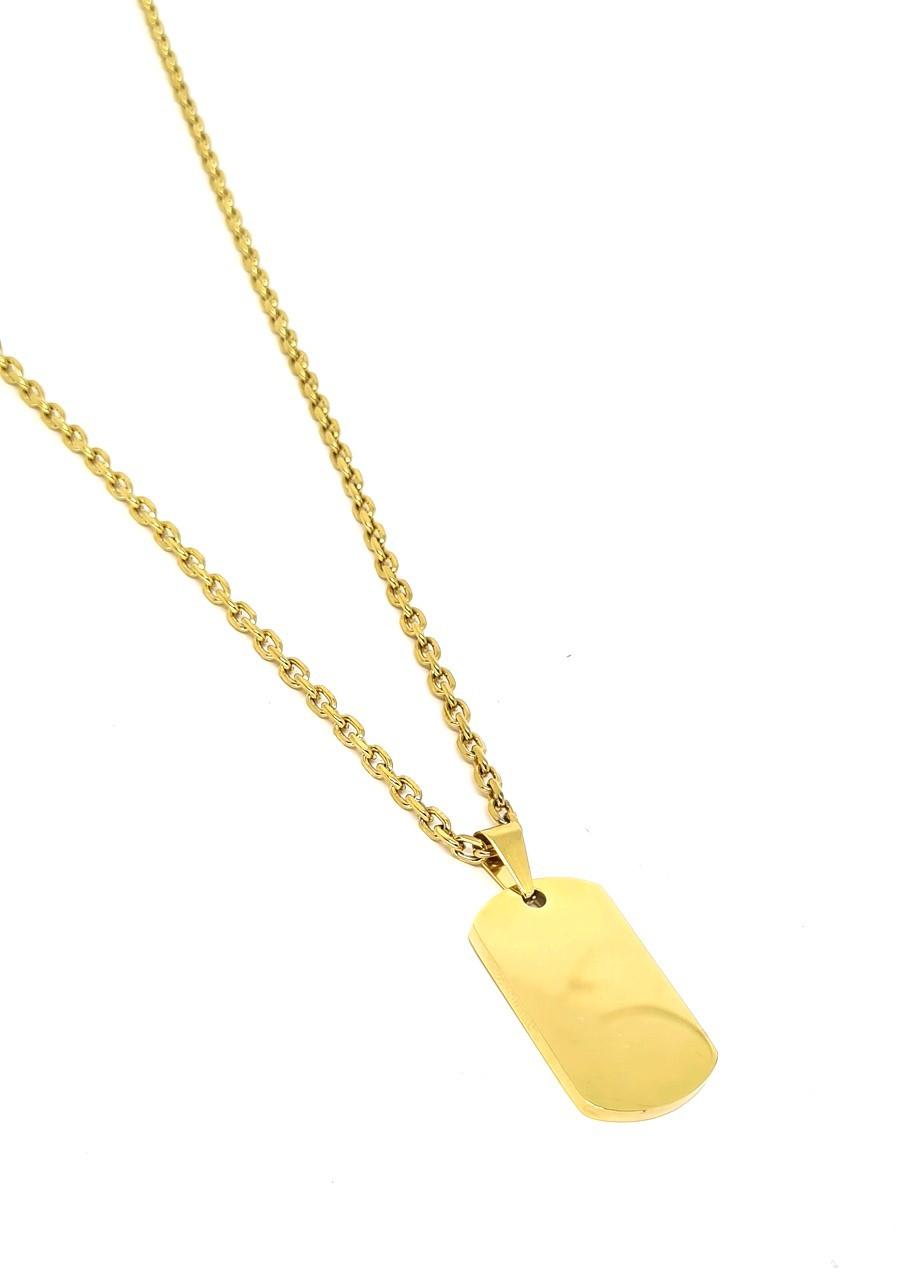 Corrente Aço Inox Bold Gold