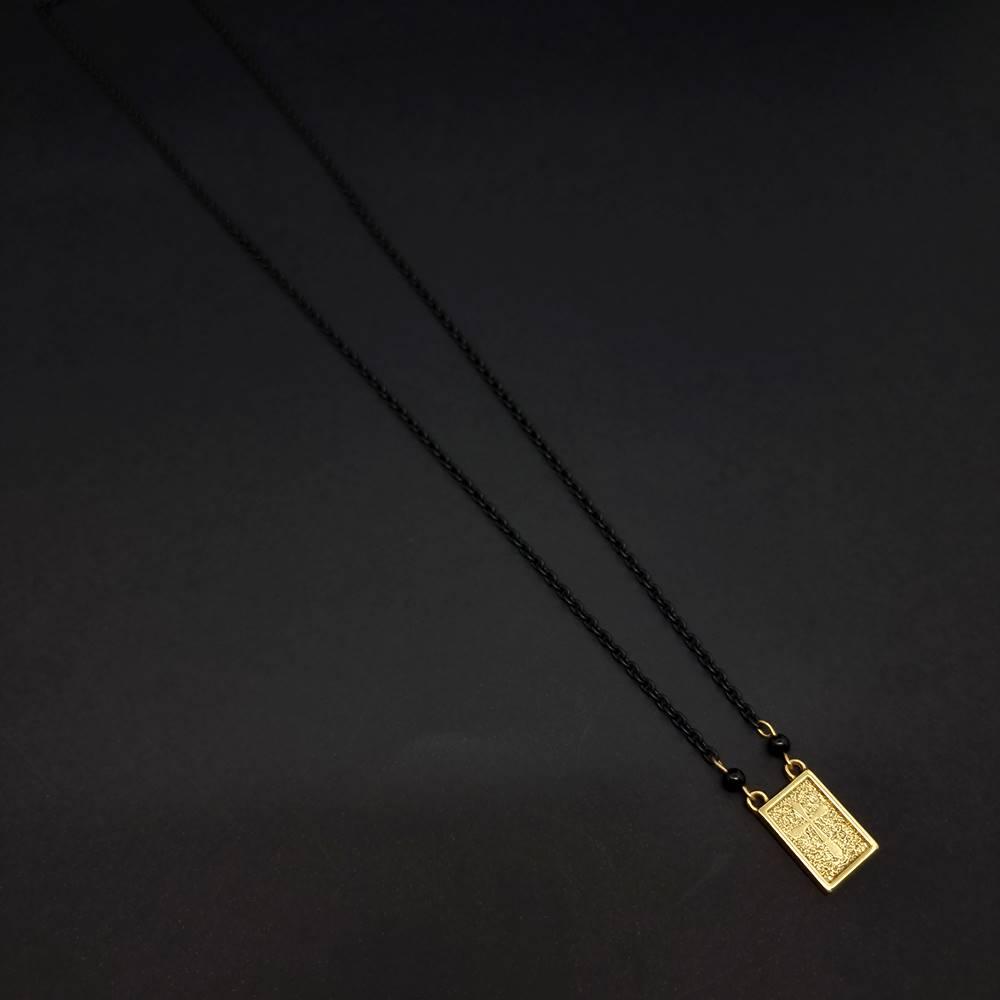 Escapulário Black And Gold