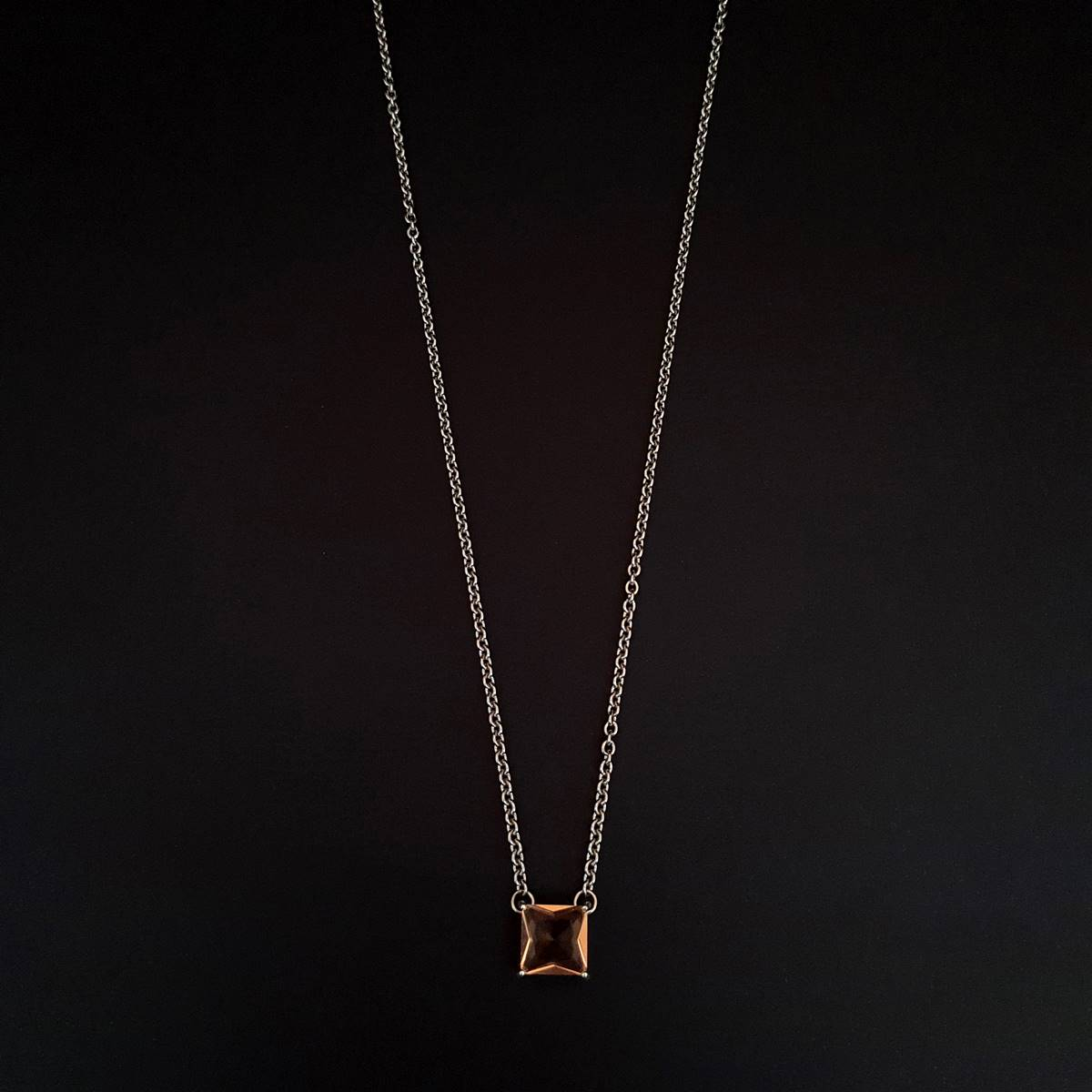 Corrente Aço Inox Precious Old Gold