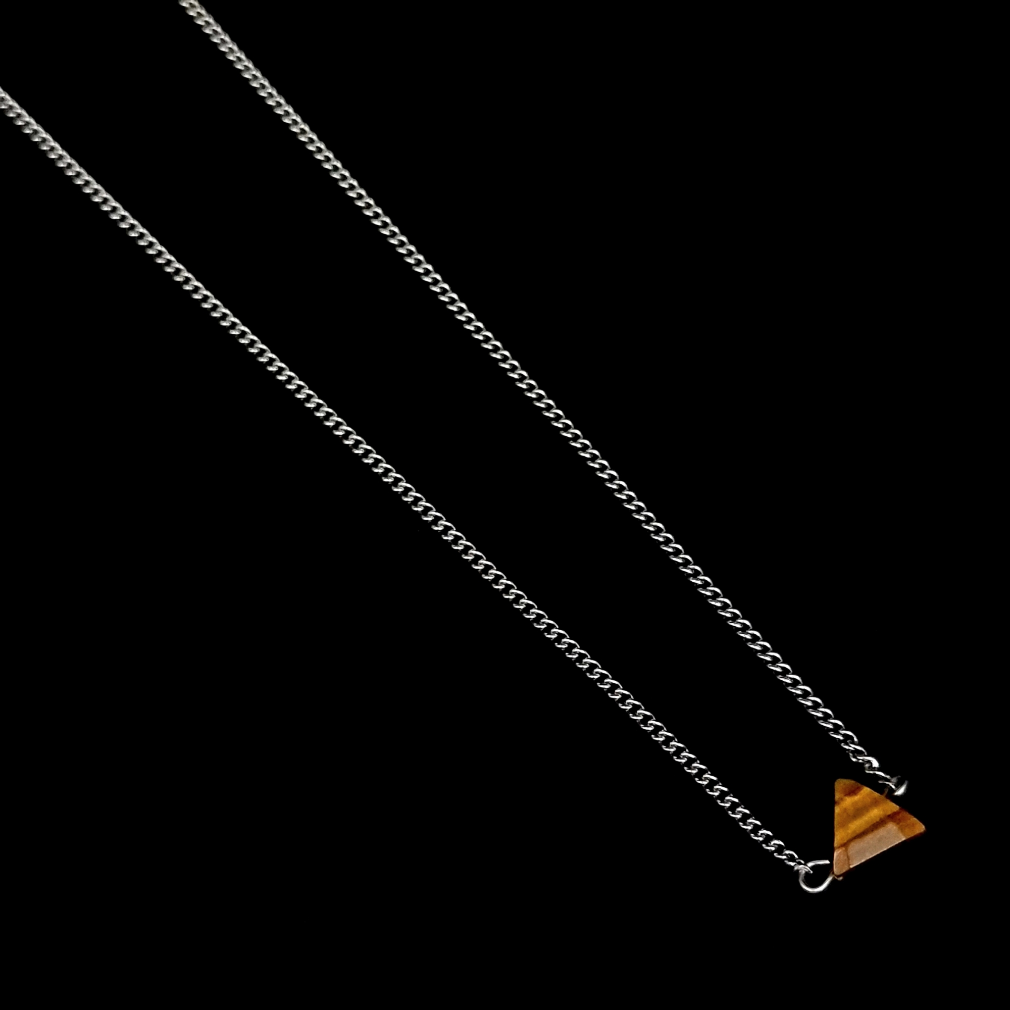 Corrente Aço Inox Stone Triangle