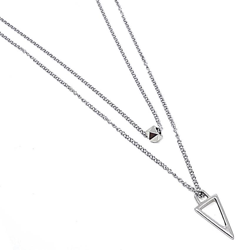 Corrente de Aço Duplo Triângulo