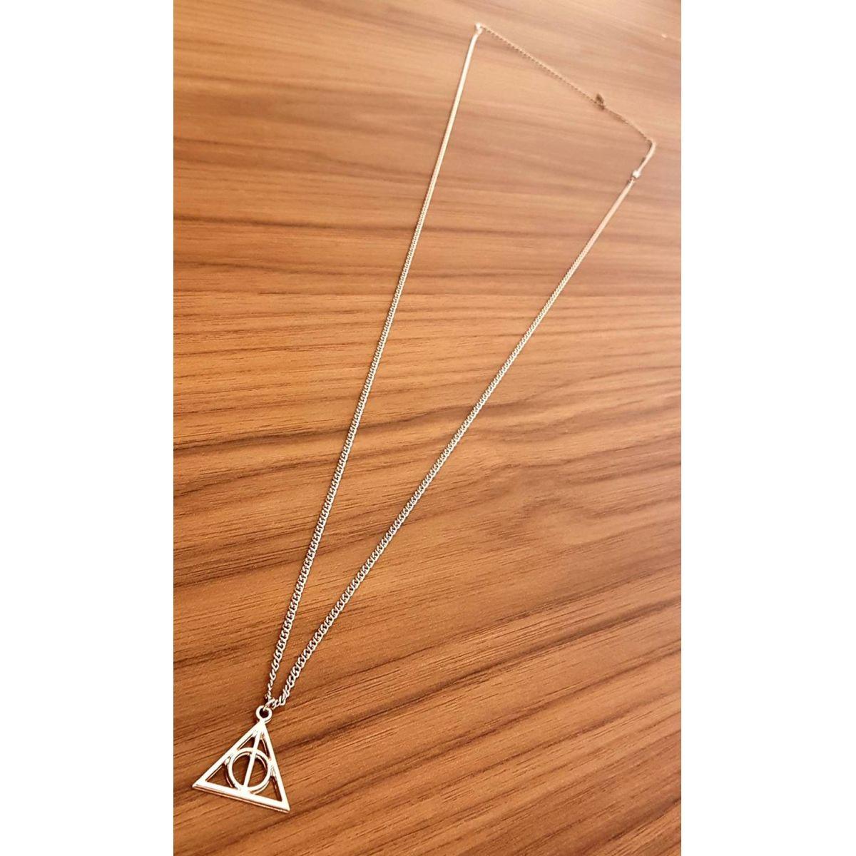 Corrente de Aço Inox Triângulo Prata