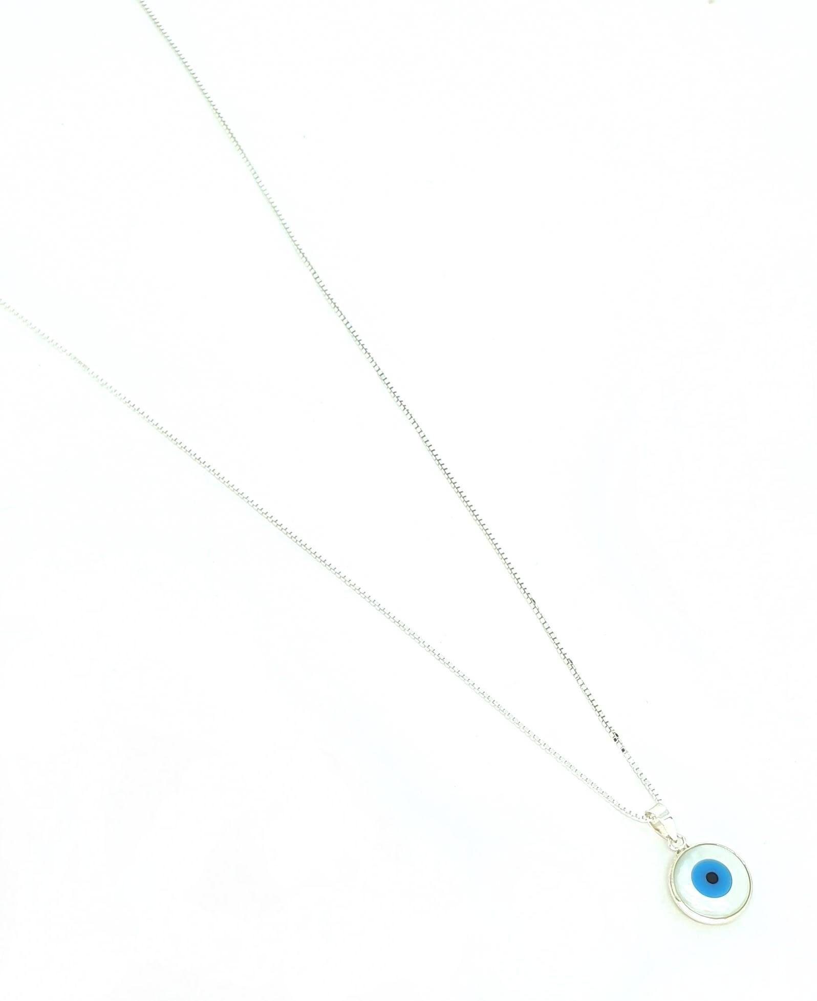 Corrente de Prata 925 Olho Grego