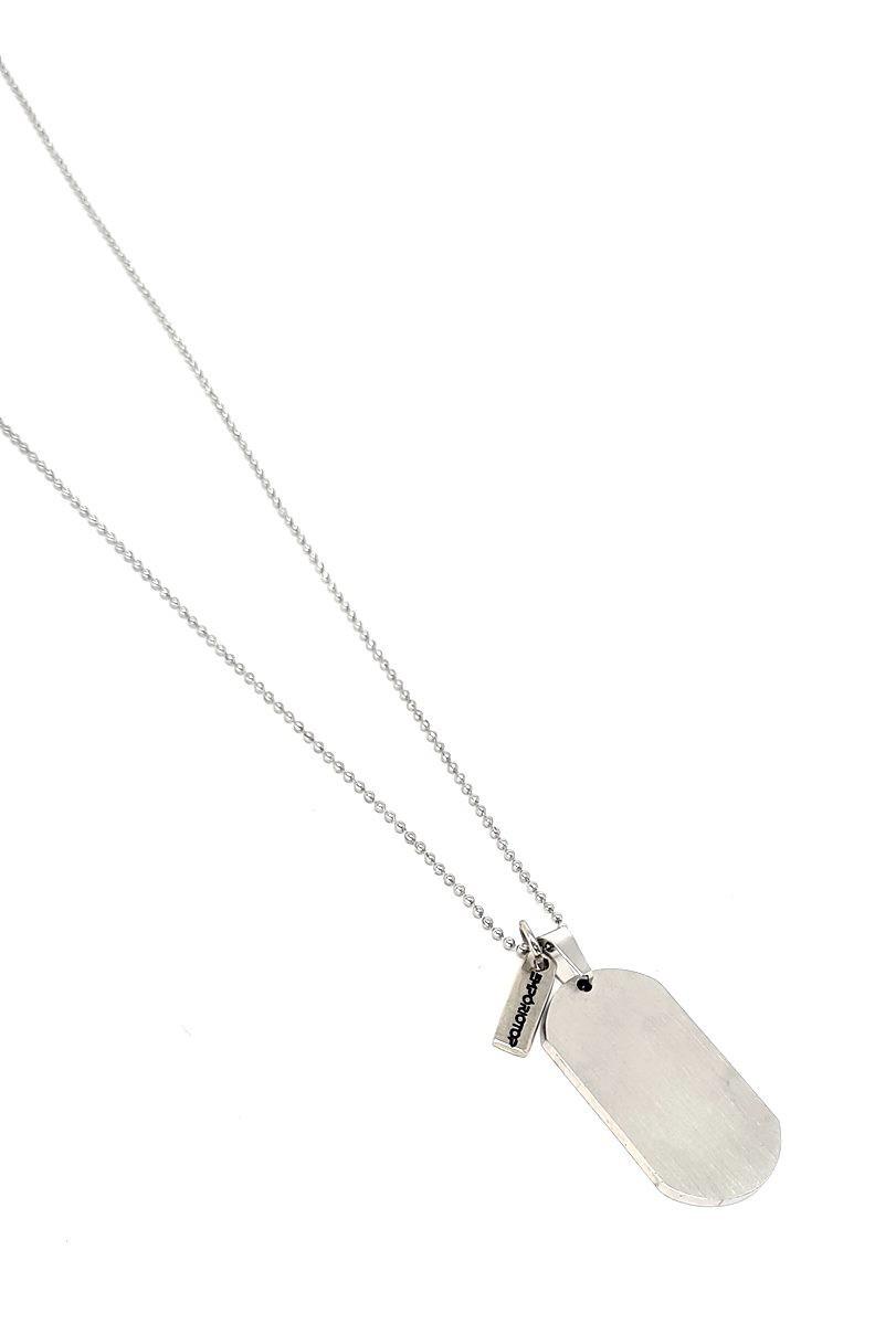 Corrente Emporio Top Aço Inox Board Silver