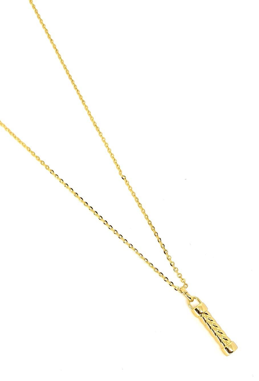 Corrente Emporio Top Aço Inox Gold Bold