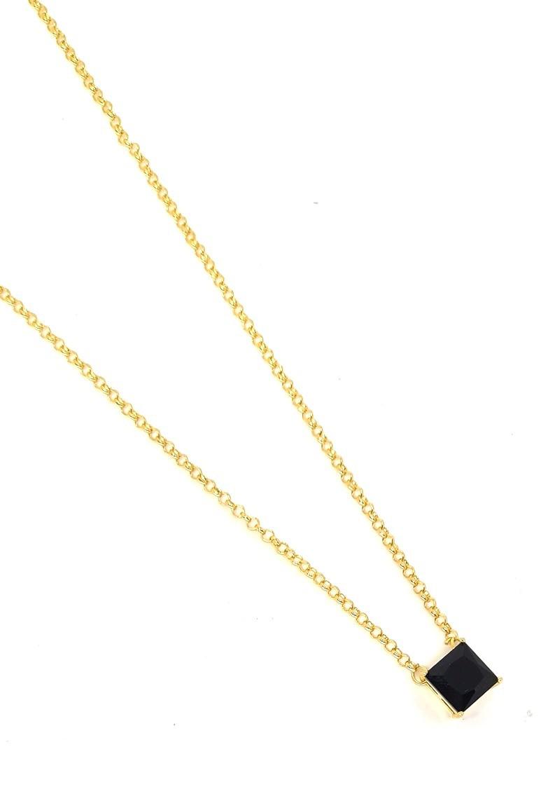 Corrente Empório Top Gold Precious Black