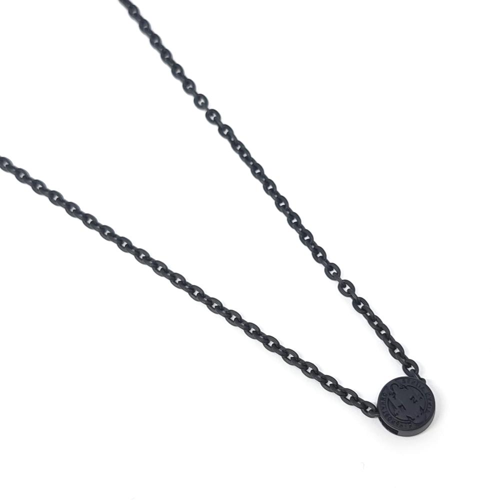 Escapulário Corrente Aço Inox São Bento Black Series