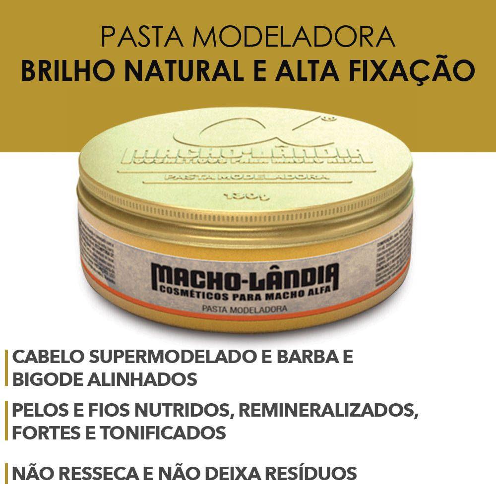 Pasta Macho Lândia Fix Modeladora da Macho-Lândia