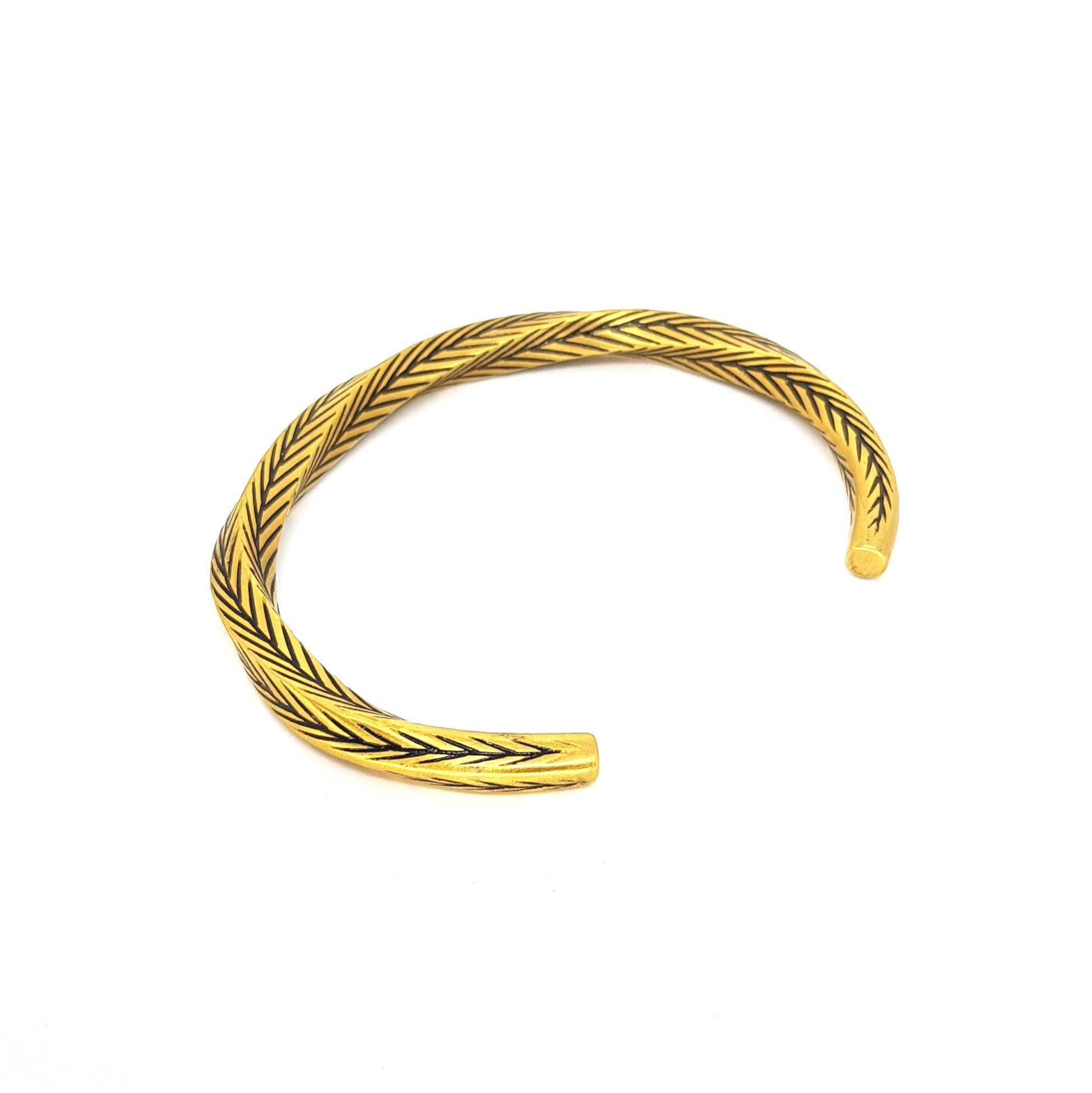 Pulseira Aço Inox Old Gold