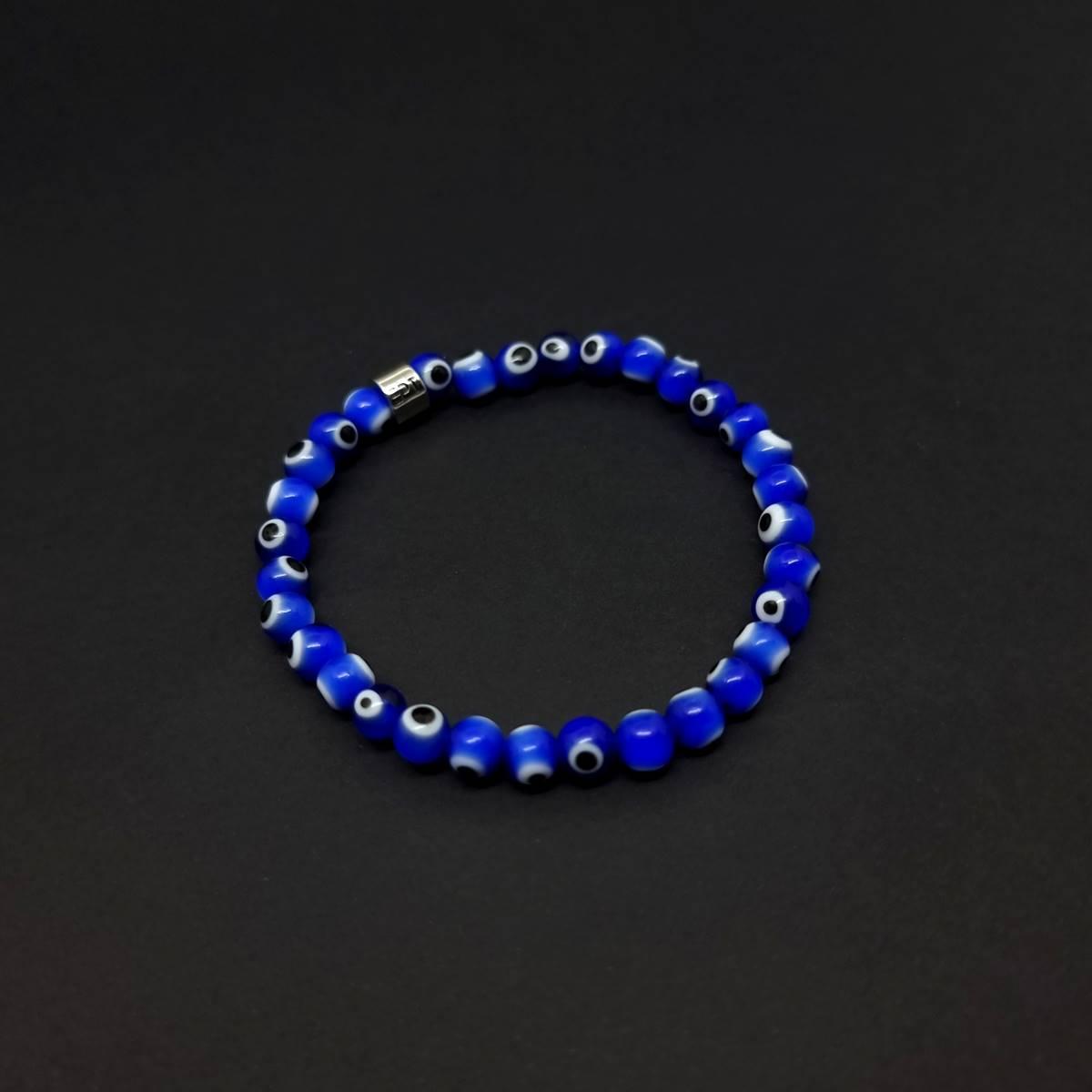 Pulseira Amuleto Olho Grego Azul