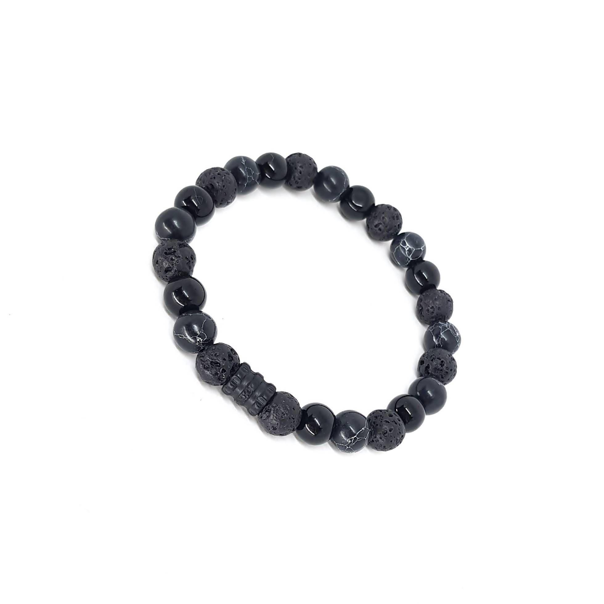 Pulseira de Pedras  Black Series Mix