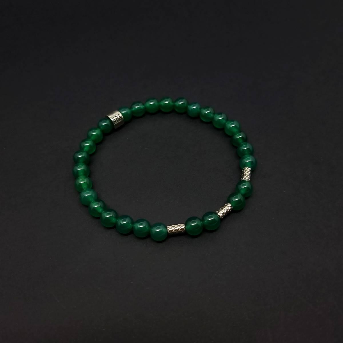Pulseira de Pedras Trio Verde