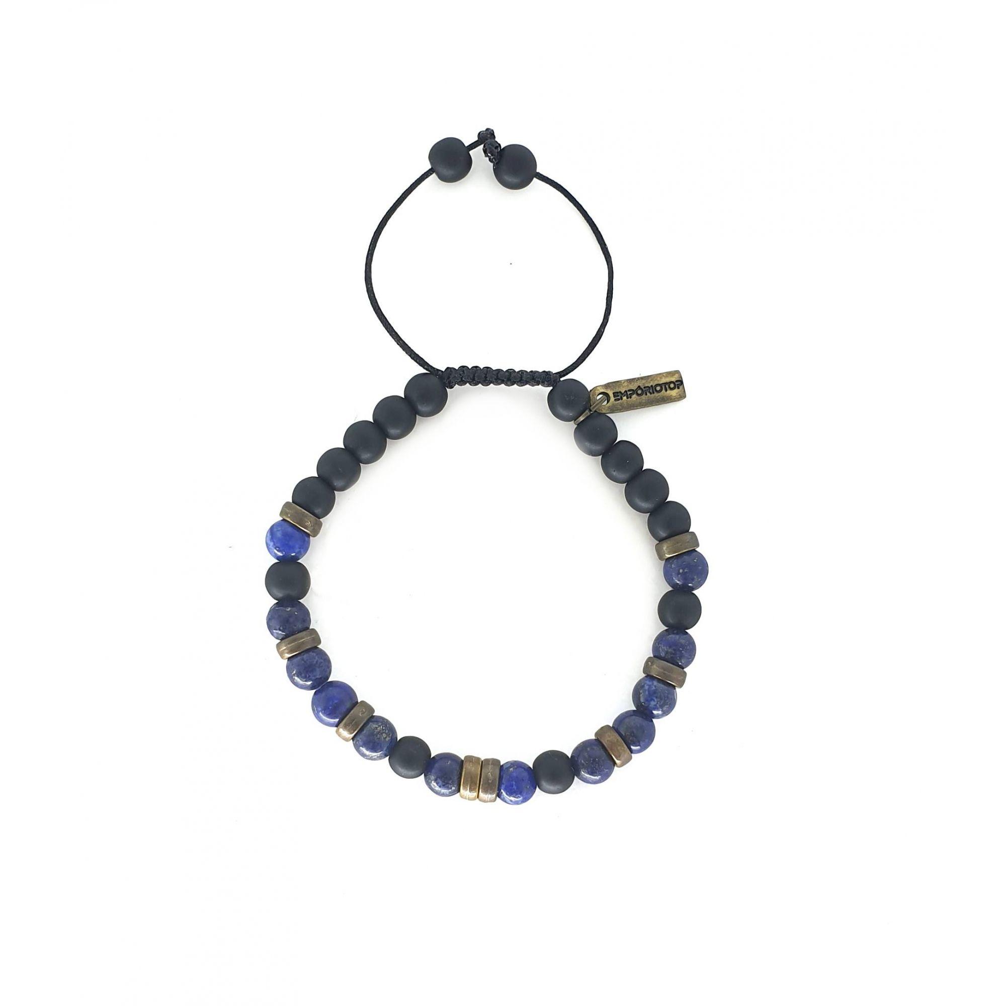 Pulseira Emporio Top de Pedras Smash Azul