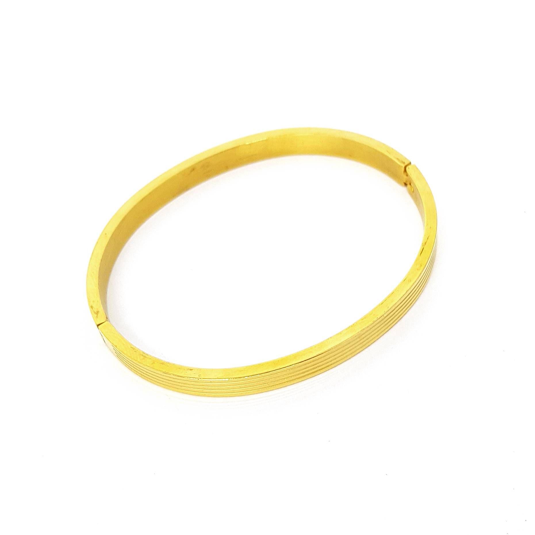 Pulseira Gold Stripes
