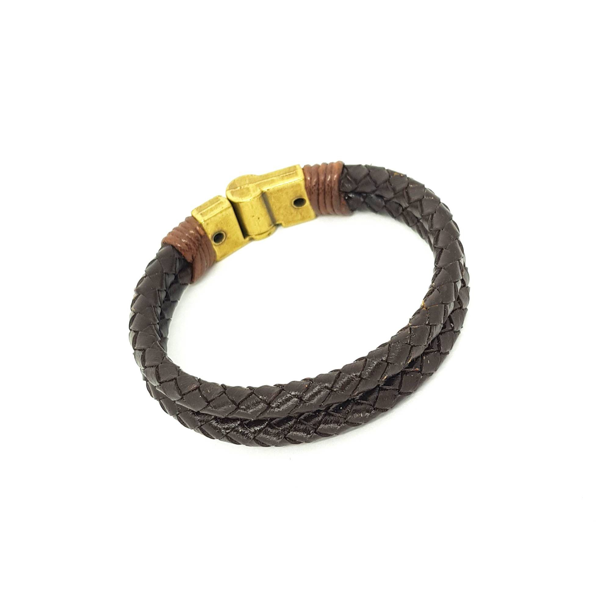 Pulseira Masculina Brown Special